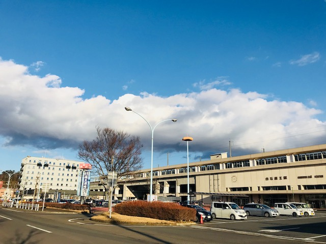 東京から最短1時間47分!! JR東北新幹線 白石蔵王駅