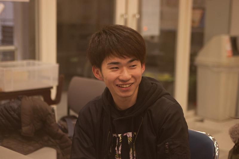 なんとインタビュー当日に15人目のメンバーとして加入が決まった齋藤晶(あきら)さん