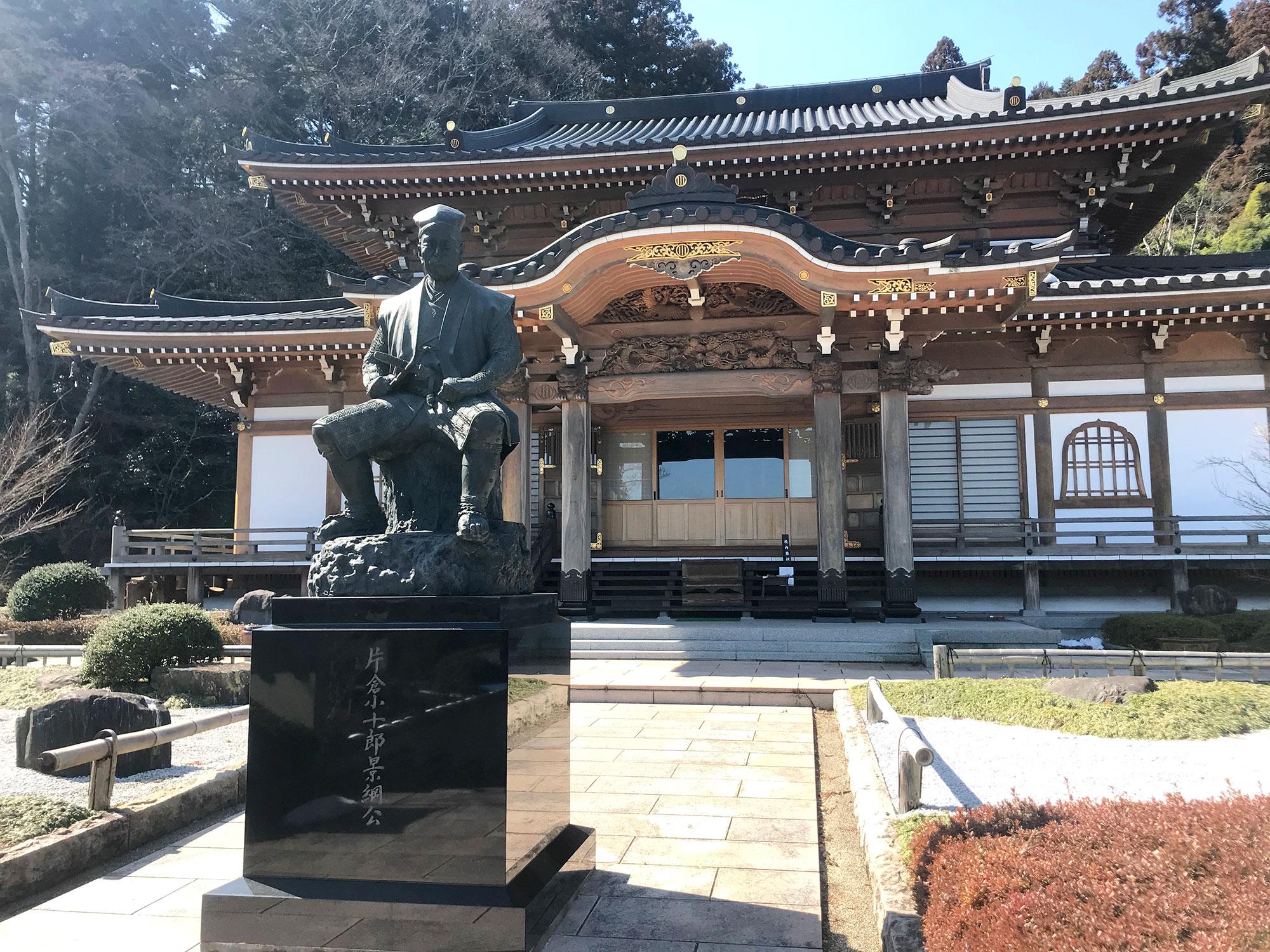 【学生ライター】小十郎が眠る「常英山傑山寺」