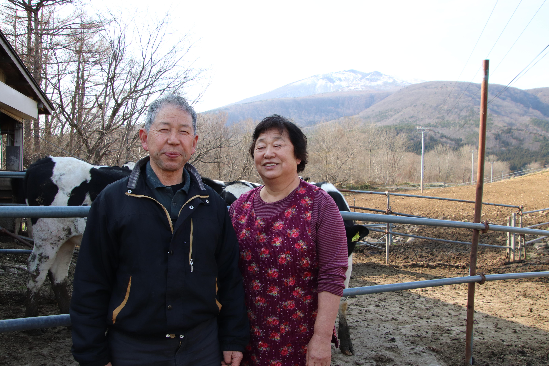 酪農家・佐久間純一さん 文子さん~乳牛と共に60年以上~