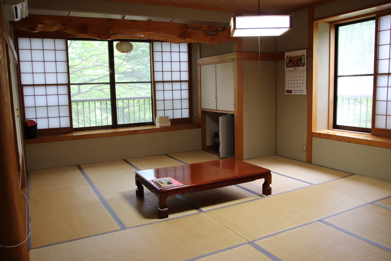 小原の景色を感じられる客室(13室)