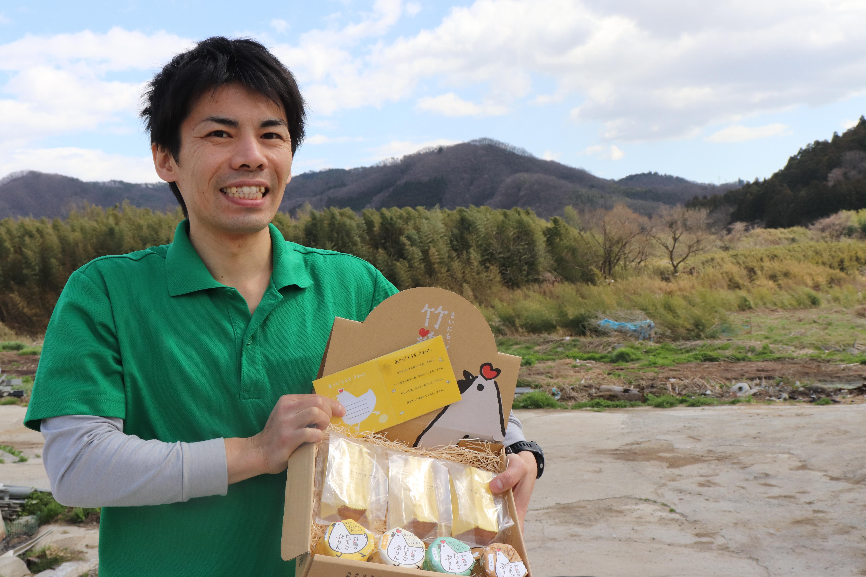 """会社スローガンは""""日本一ありがとうの「わ」が生まれる養鶏場を目指して"""""""